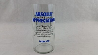 Absolut Appreciation Glass Tip Jar Promotional Collectible