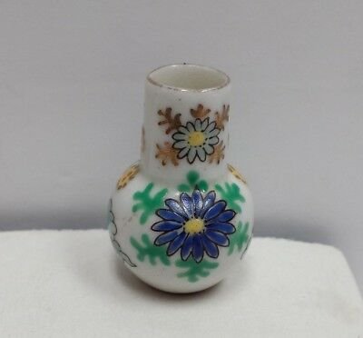 Antique Chinese Porcelain Miniature Vase Hand Painted