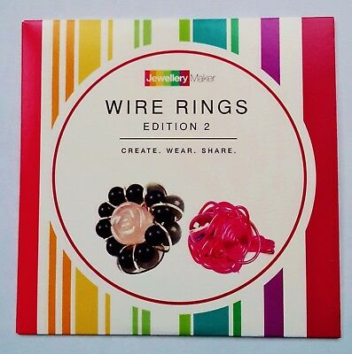 Jewellery Making Tutorial CD (Jewellery Maker) - Wire Rings Edition 2