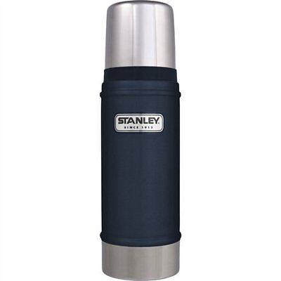 Stanley Classic Vacuum Bottle Hammertone Navy Stainless Steel with Multis Size