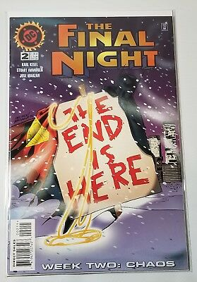 Comic Book The Final Night #2 Nov 1996, DC The End Is Here Week Two Chaos Stuart