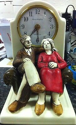 Old Vintage Ceramic Clock, Keeps Correct Time, Collection From Rochdale