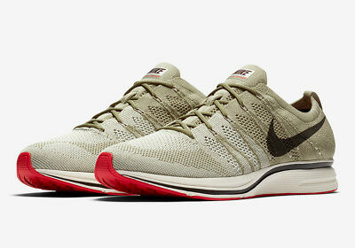 baab014a5b Nike Flyknit Trainer Neutral Olive Velvet Brown Shoes Sneakers AH8396-201  $150