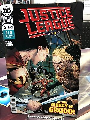 Justice League 6 DC Comics 2018