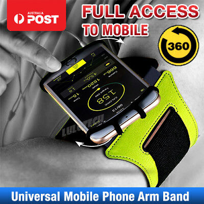 Sports Gym Running Slim Rotating Arm Band Armband for Apple iPhone XS Max/XR/X