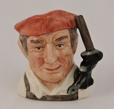 Royal Doulton Toby Character Jug Williamsburg Blacksmith D6585 MINIATURE 2.5""
