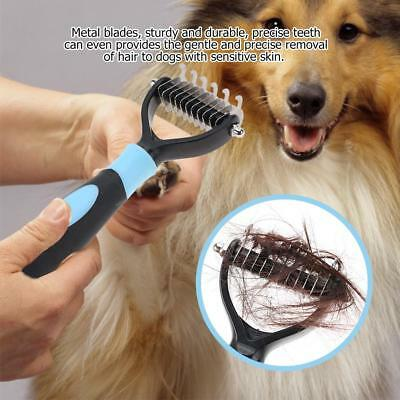Pet Groomer Grooming Tool Hair Removal Brush Comb For Dogs Cats Shedding