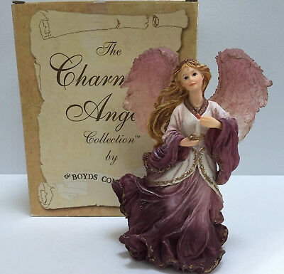 Boyds Charming Angels Figurine Alessandra Guardian of Hope 2002 with Box