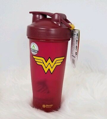 Blender Bottle DC Comics Superhero Series Pro 32 oz. Shaker with Loop Top WW New