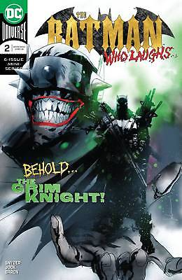 Batman Who Laughs #2 Jock Cover Highly Anticipated! Pre-Order 4 Midjanuary