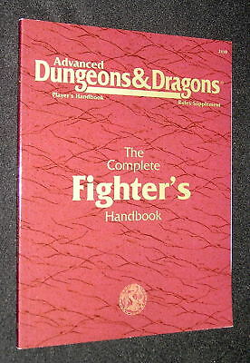 The Complete Fighter´s Handbook (AD&D 2nd Edition) Rules Supplement