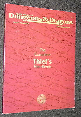 The Complete Thief´s Handbook (AD&D 2nd Edition) Rules Supplement