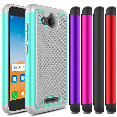 FOR ALCATEL TETRA 6753B / 5041C Phone Case Hybrid Shockproof Hard Rugged  Cover