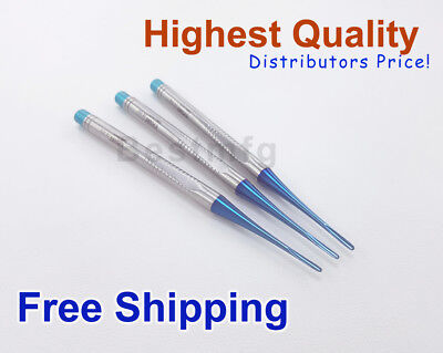 Dental Root PDL Luxating Elevators Straight Periodontal Surgical Instruments 3x