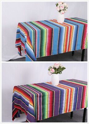 """TRLYC 59""""x84"""" Mexican Tablecloth Wedding Birthday Party Table Banquet Decoration"""