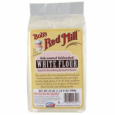 Bobs Red Mill Bob'S Red Mill Unbleached White Flour, 5 Lb Pack Of 4