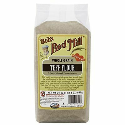 Bobs Red Mill Bob'S Red Mill Whole Grain Teff Flour, 24-Ounce Packages P ...
