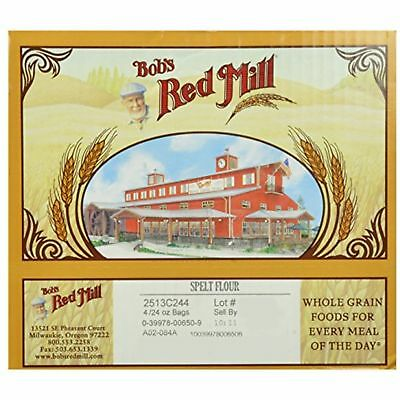 Bobs Red Mill Bob'S Red Mill Spelt Flour, 24-Ounce Pack Of 4