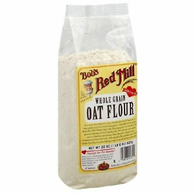 Bobs Red Mill Bob'S Red Mill Flour Oat, 22-Ounces Pack Of4