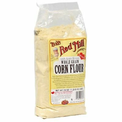 Bobs Red Mill Bob'S Red Mill Flour Corn, 24-Ounces Pack Of4