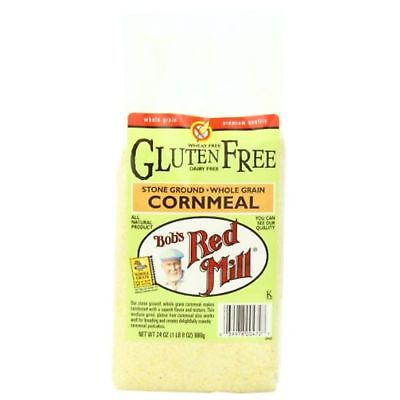 Bobs Red Mill Bob'S Red Mill Gluten Free Cornmeal, 24-Ounce Packages Pac ...