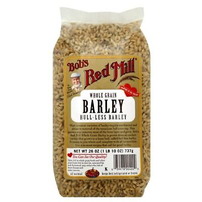 Bobs Red Mill Bob'S Red Mill Barley Hull, Less Whole, 26-Ounces Pack Of4