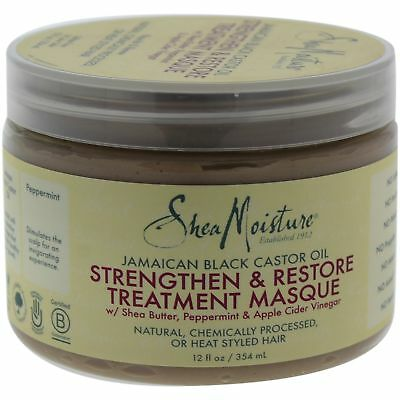 Jamaican Black Castor Oil Strengthen Grow Restore Treatment Masque by Shea M ...