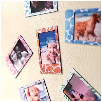 Polaroid 6 Designer Magnetic Picture Frames For 2x3 Photo Paper (Snap, Zip,  ...