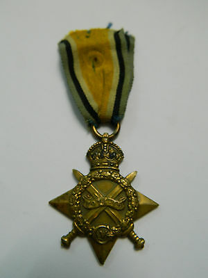 WW1 Medal 1914-15 Star British Empire Medaille Orden Weltkrieg