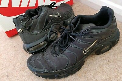 the latest d9ab2 37a5a NIKE AIRMAX TN 9.5 trainers RARE HIDDEN REFLECTIVE gold black NOT 90 95s  scally?
