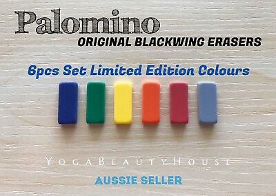 *6 pcs* Limited-Colour Set Palomino Blackwing Eraser pencil pen art calligraphy