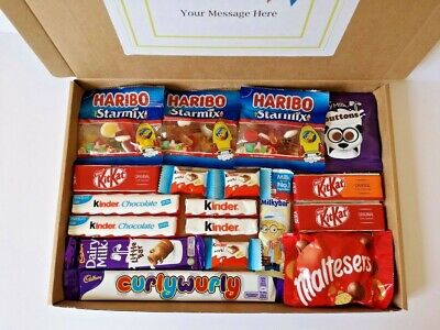 Slimming World Present Gift Box Syns Treats Chocolate Birthday Personalised