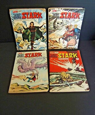 Lot De 4 Janus Stark N° 13.14.29.65 Mon Journal Bd