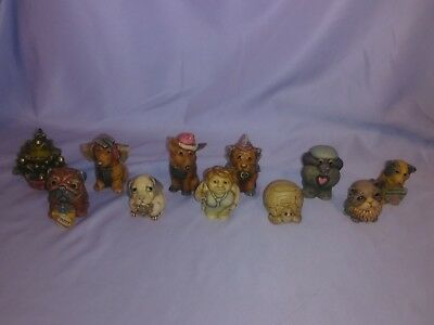 11 Harmony Kingdom Treasure Trinket Boxes, Doctor, Dogs, Cat, Turtle, Xmas Tree
