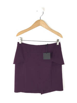 Skirt Womens Plum Bnwt The Light Size Vintage 36uk Kooples Crepe CBrdxeo