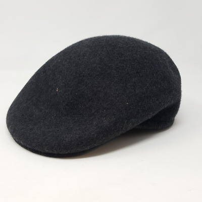 9063c596 Country Gentleman Men's Cuffley IVY Cap With Firm Shape retention,  Charcoal, M