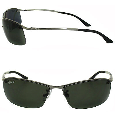 3768c2fab8a33 NEW RB3183-2 Polarized Ray Ban Metal Authentic Semi-Rimless 100UV Made in  Italy