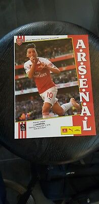 Arsenal v Liverpool. Premier League Official Matchday Programme 2018/2019
