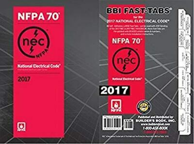 NFPA 70: National Electrical Code NEC Spiralbound and Fast Tabs, 2017 Edition