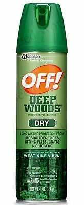 Off! Deep Woods Insect Repellent (Dry) - 4 oz