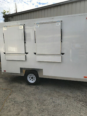"""Food Concession Trailer 7'9"""" X 12' For Sale-Ready Now!  Brand New!!"""