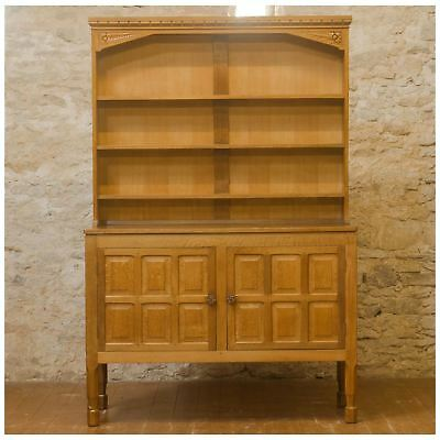 Don Foxman Craven Ex-Mouseman Arts & Crafts Yorkshire School English Oak Dresser