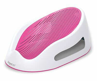 New Angelcare Soft Touch Bath Support - Pink Baby Comfort Support Anti Slip Base