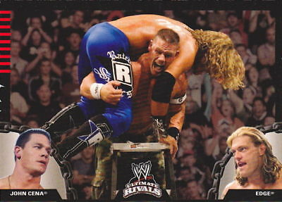 "2008 WWE TOPPS ""RIVALS"" PROMO WRESTLING TRADING CARD - NEW Condition"