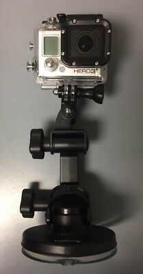 GoPro Hero 3 Black with LCD Touch Bacpac and Suction Mount
