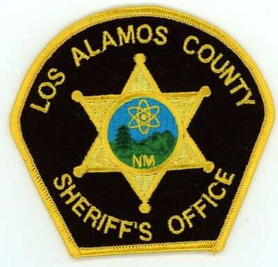 Los Alamos County Sheriff New Mexico Nm Patch Police