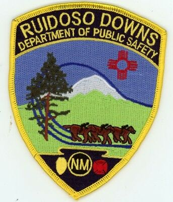 Ruidoso Downs Department Of Public Safety New Mexico Nm Police Sheriff Colorful