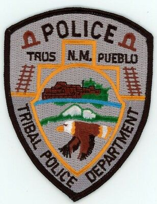 Taos Tribal Police New Mexico Nm Patch Sheriff Eagle Colorful