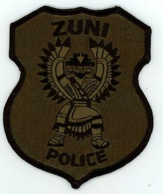 Zuni Tribal Police Subdued Swat New Mexico Nm Patch Sheriff