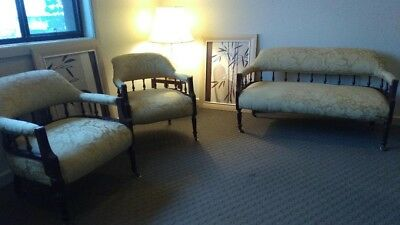 Antique Lounge Suite 1900s Original